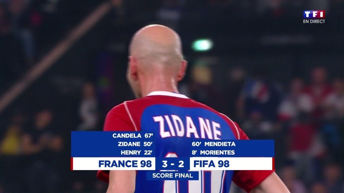 #France98vsFIFA98 I loved this match so much, thank you for it and for bringing back some good old memories! I'd lie if I'd say I didn't shed a tear at the end.  <br>http://pic.twitter.com/RhPgZcEzhC