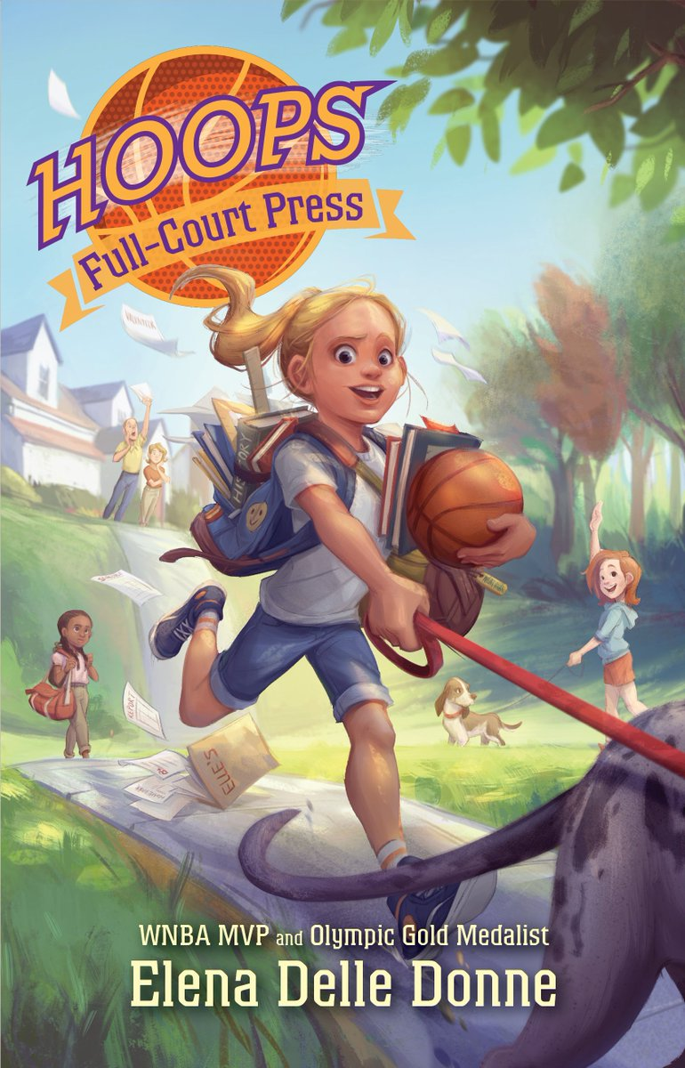The second book in HOOPS is out today, order your copy --> amzn.to/2y6gcKo
