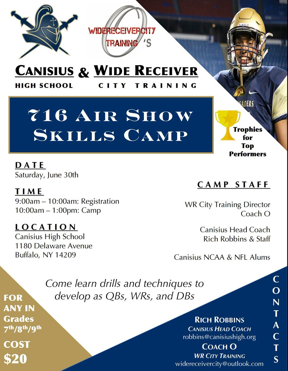 online store 5dcc1 cdd31 Canisius HS Football