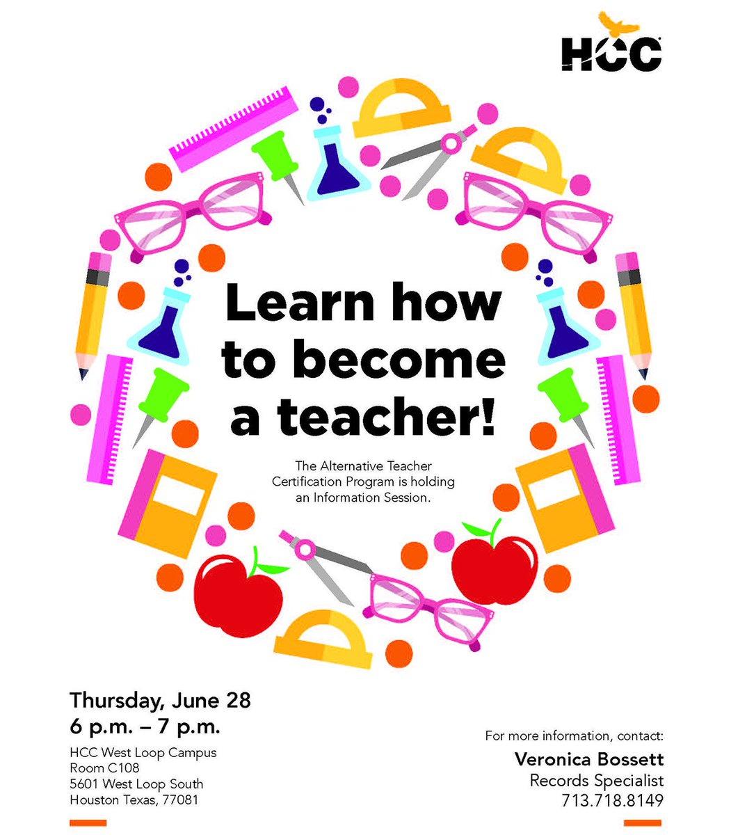 Hcc District The Alternative Teacher Certification