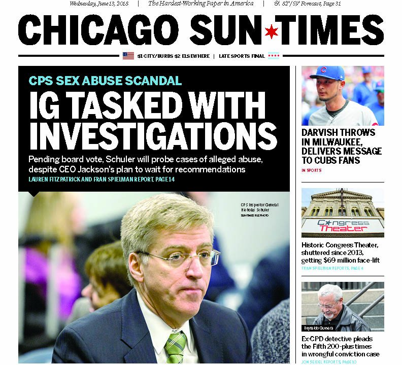 Chicago Sun-Times on Twitter:
