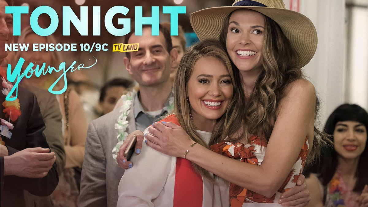 Are you guys ready for tonight!? All new @YoungerTV 10/9c on @tvland! #YoungerTV #HeKnows