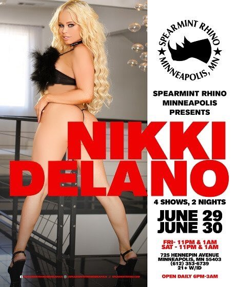 2 pic. Meet me live the last weekend of June at @rhinoclubs @spearmint_mpls Minneapolis for 2 nights