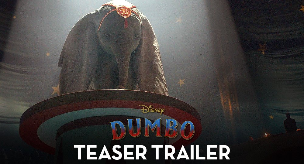 This March, the beloved tale will take you to new heights. Watch the new trailer for Disney's #Dumbo.