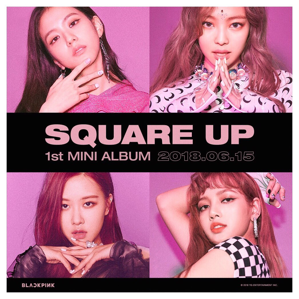 Jennie Pics On Twitter Blackpink Square Up Countdown Live