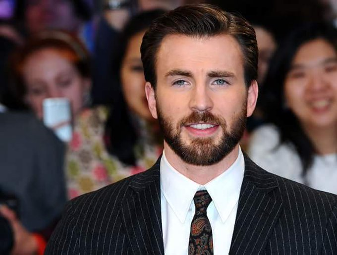 Happy 37th Birthday, Chris Evans aka Captain America.