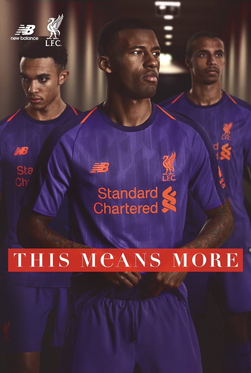 070e3372 The 18/19 @LFC Away Jersey now available at NB Experience Stores and  online: https://bit.ly/2JBSIC4 . #LFC #NBFootballpic.twitter.com/GoKePlDiod