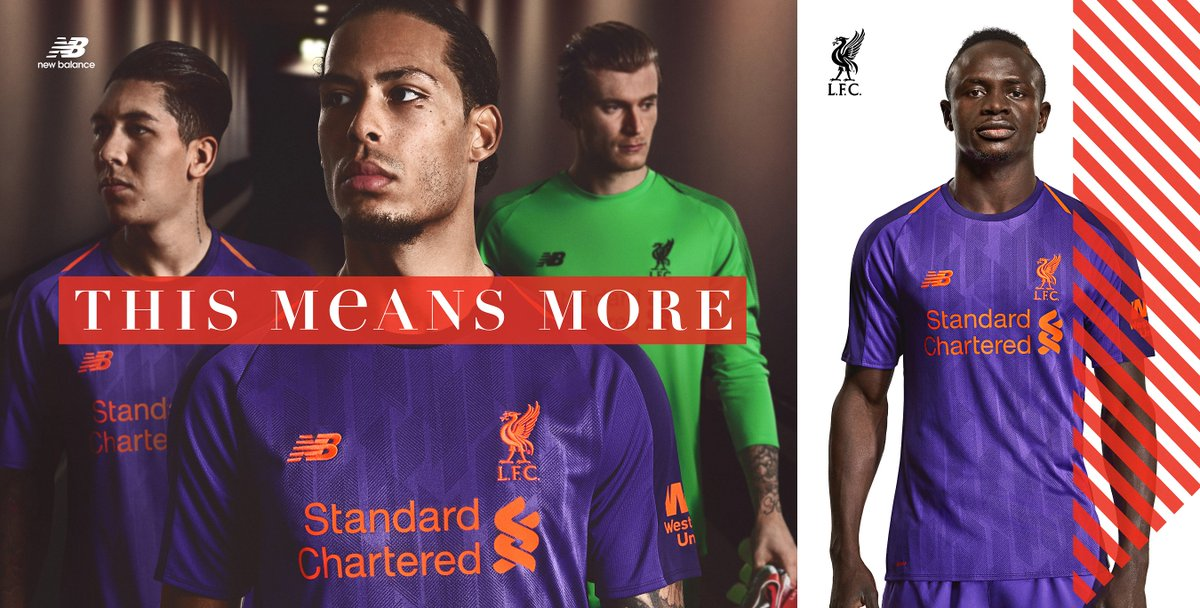 08b1b07d This means more. The 18/19 @LFC Away Jersey now available at NB Experience  Stores and online: https://bit.ly/2JBSIC4 . #LFC #NBFootballpic.twitter.com/  ...