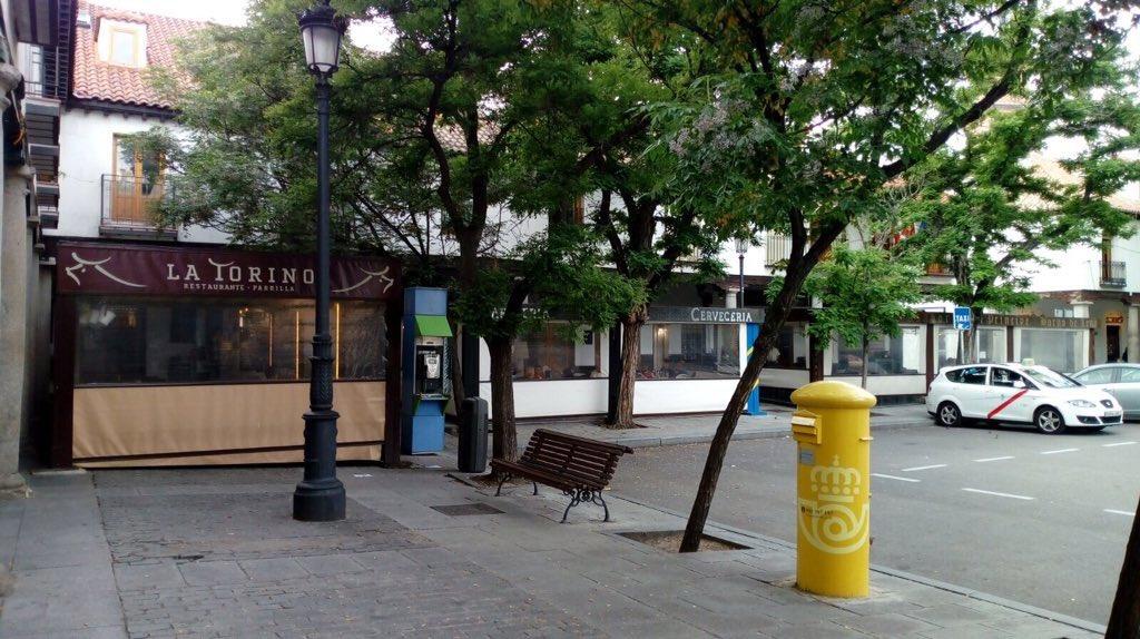 El Sereno De Madrid On Twitter Aunque Estas Terrazas De La