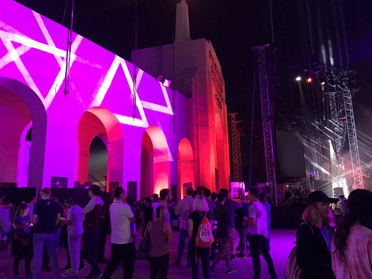 Digital LA - Fortnite E3 party at the Olympic Coliseum is EPIC!