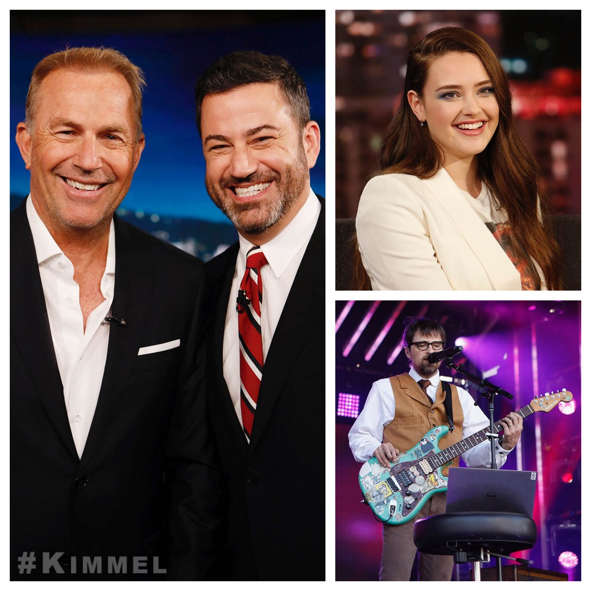 Jimmy Kimmel Live On Twitter Tonight On Kimmel Kevin Costner Modernwest Yellowstone Katherine Langford 13reasonswhy Music From Weezer On The Mbusa Outdoor Stage Weezercoverafrica Https T Co Bxt2gmzxx1 When kimmel teased the star by showing a clip that replayed her racy dance number on repeat she shouted 'it was so not that long' as kimmel declared it 'the three most magical seconds' of his life. jimmy kimmel live on twitter tonight