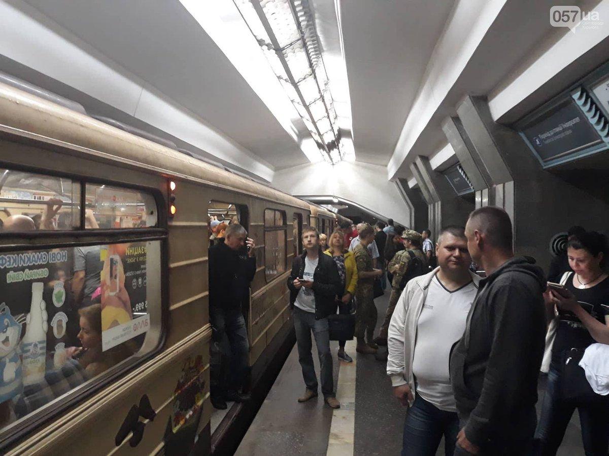 Прикольные фото в харьковском метрополитене