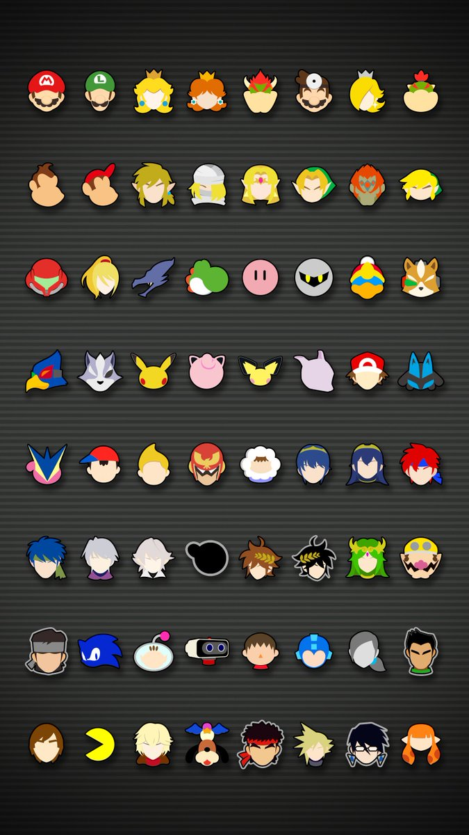 Kaz Kirigiri On Twitter Super Smash Bros Ultimate Icon Wallpaper
