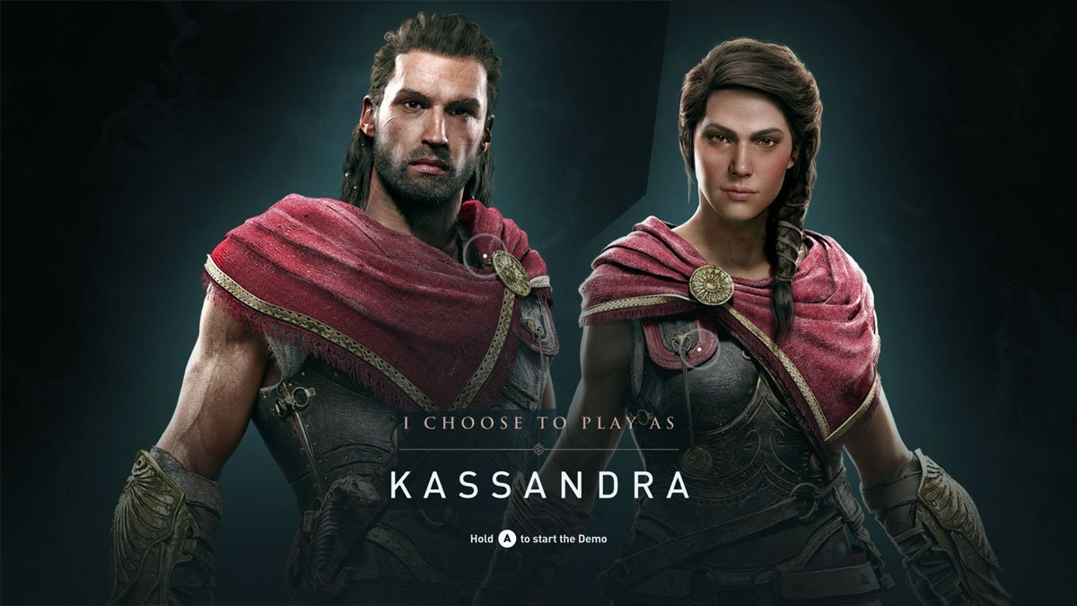 Stevivor On Twitter Assassin S Creed Odyssey Protagonists