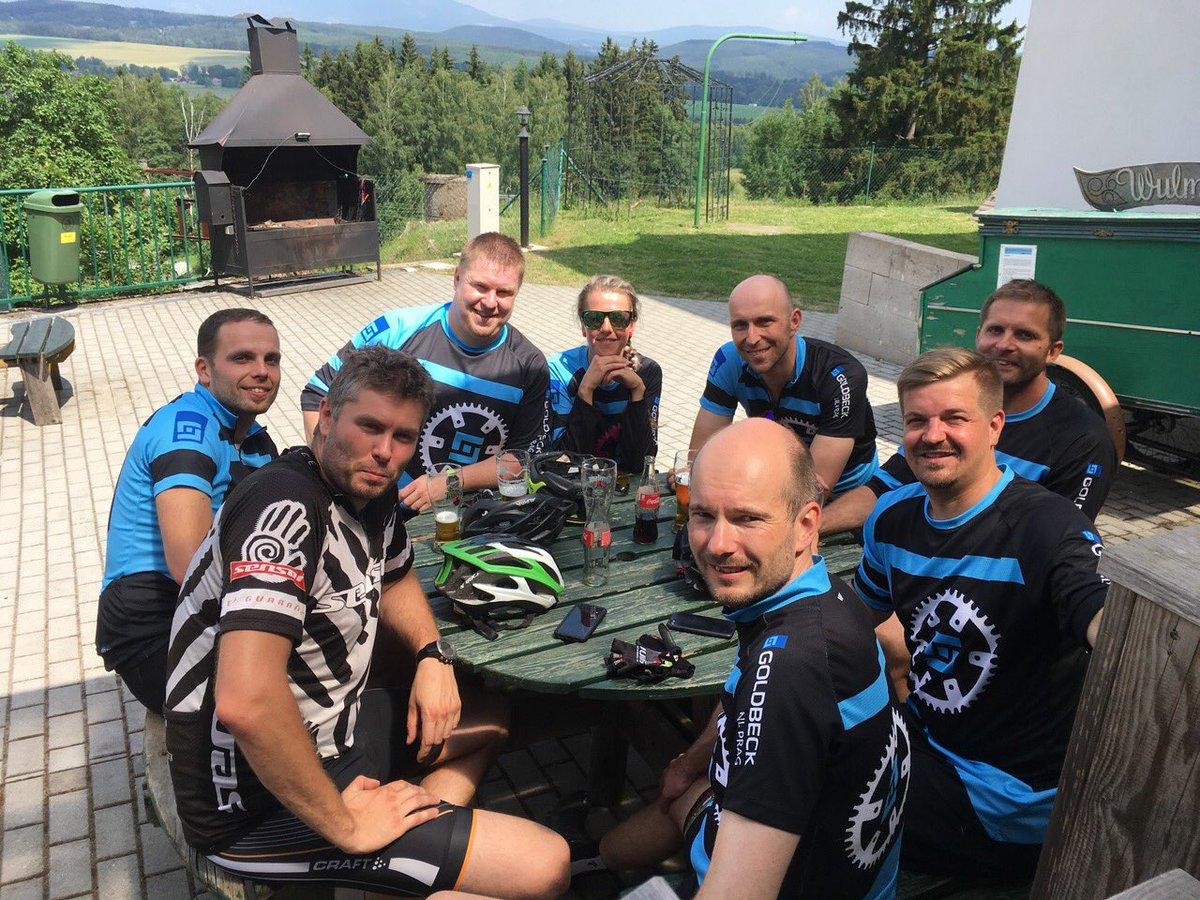 cyklistika-hashtag på Twitter