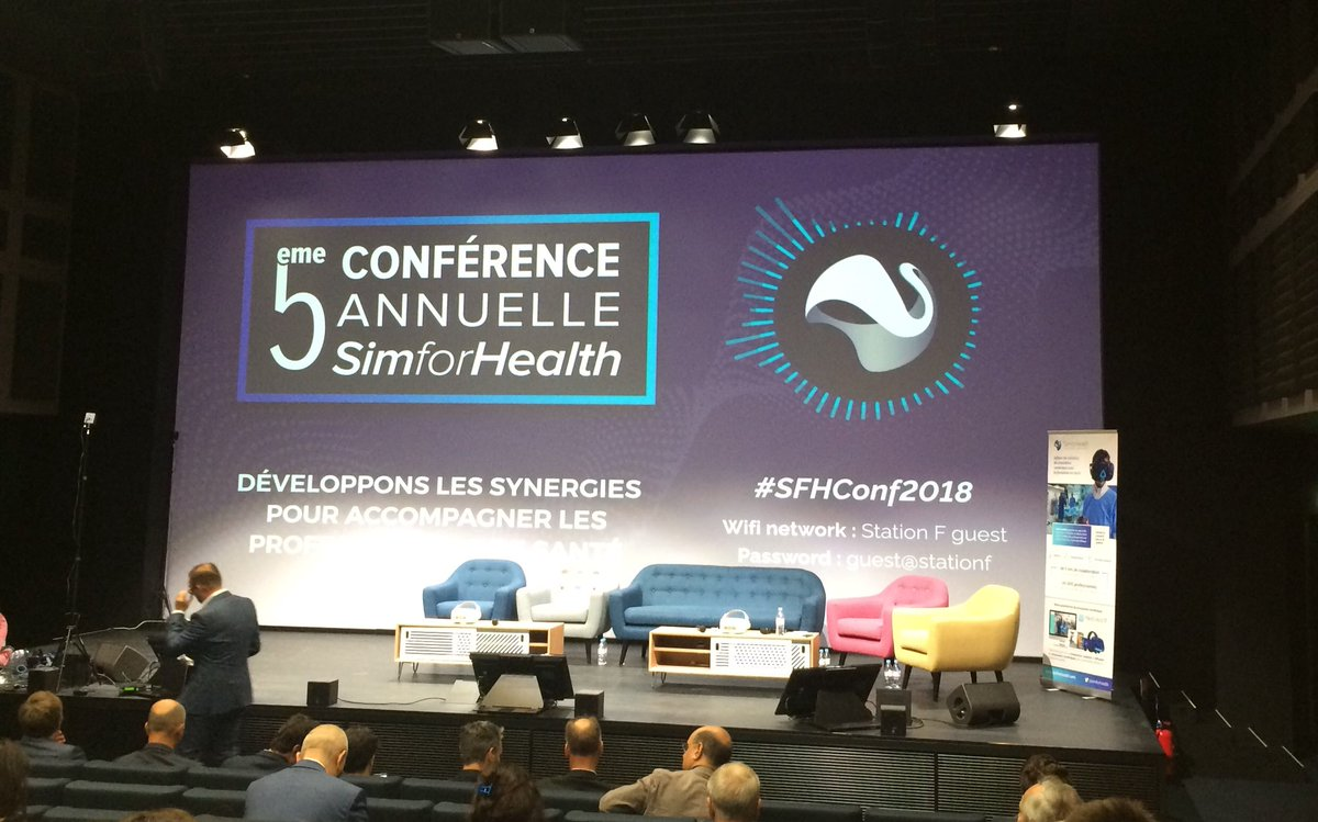 Where innovation meets healthcare #SFHConf2018 @joinstationf<br>http://pic.twitter.com/zW3dZJvtak