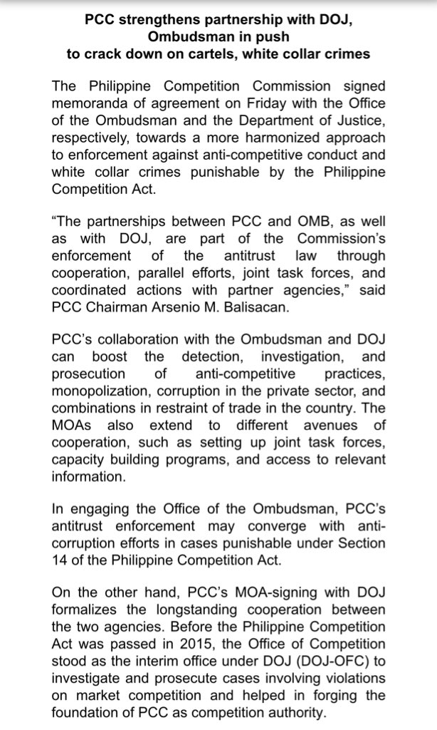 Abs Cbn News Channel On Twitter Pcc Seeks Aid From Doj And