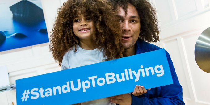 How are you choosing to #StandUpToBullying today? Tag us and use the hashtag and we may feature you as our top tweet of the hour! Photo