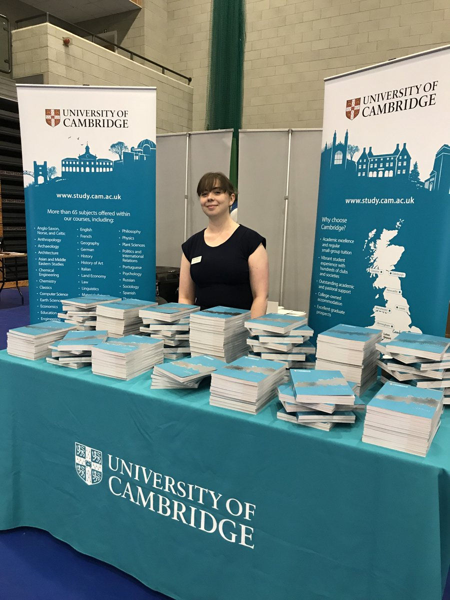 Cambridge Admissions Auf Twitter Were At The Norfolk Ucas Fair
