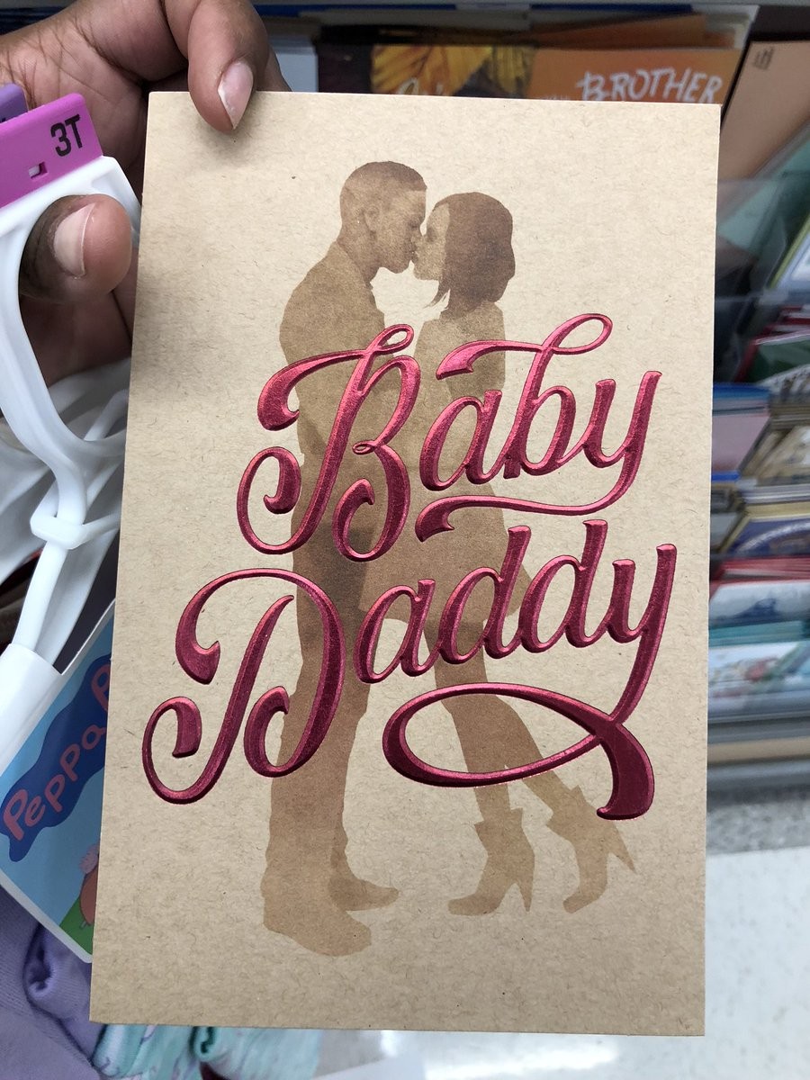 American Greetings Had The Foolish Idea To Create A Baby Daddy