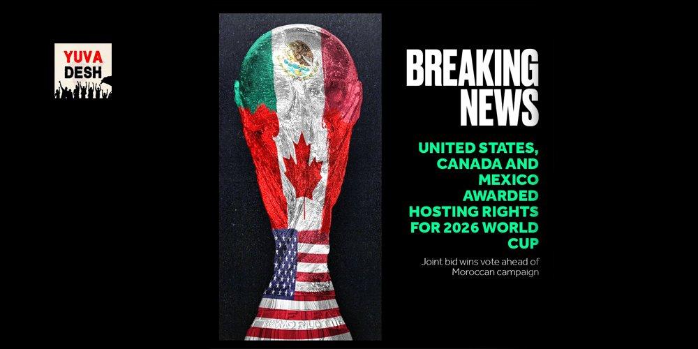Yuva Desh's photo on Canada and Mexico