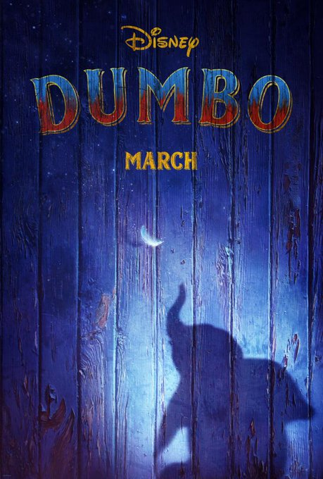 Get your first look at Disney's #Dumbo. Coming to theatres March 2019. Photo