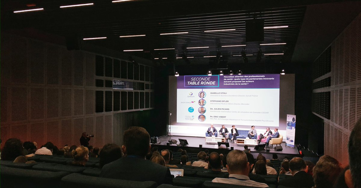 Today, STRAMMER attended the 5th edition of @SimforHealth's conference. The aim is to reflect the use of digital simulation for supporting healthcare professionals. We are glad to get to know about innovations & improve our skills on supporting health specialists. #SFHConf2018 <br>http://pic.twitter.com/39z6pDoY9T