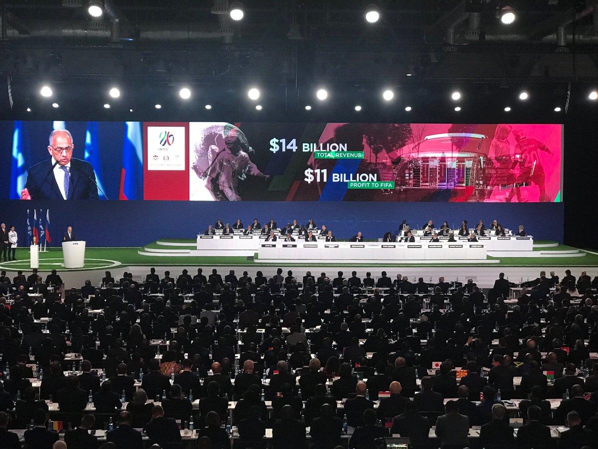 NÓNG: World Cup 2026 sẽ được tổ chức tại Mỹ, Canada và Mexico - Ảnh 4.