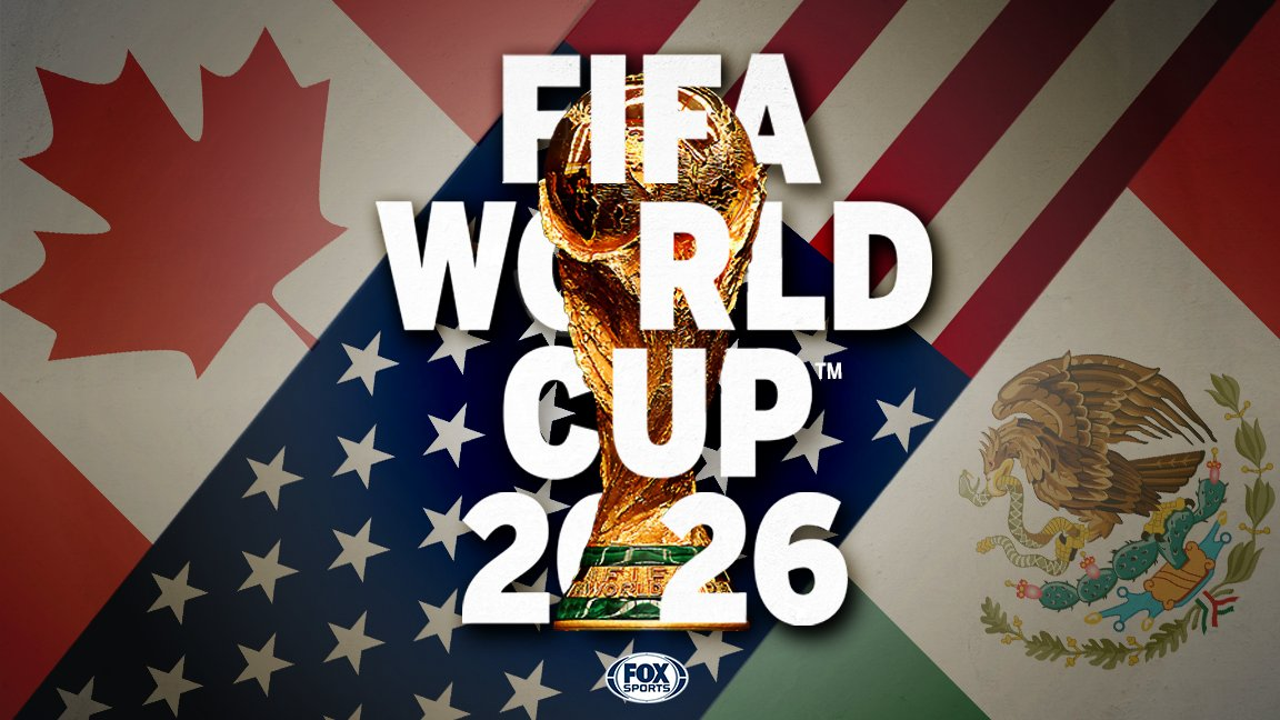 WE GOT THE CUP! 🇺🇸🇲🇽🇨🇦  The united USA-Mexico-Canada bid has won the hosting rights for the 2026 FIFA World Cup!