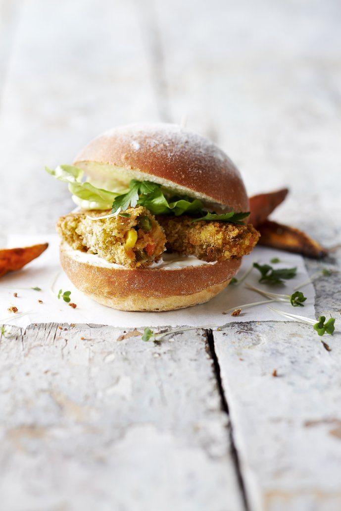 We heard you... Hello, #Veggie Sarnie! (No fish in this one)