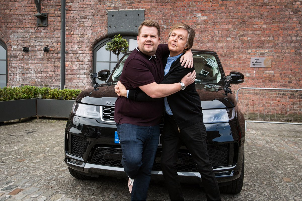 It's happening! #CarpoolKaraoke with @PaulMcCartney premieres next week during our four nights in London!