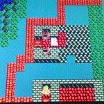 Image for the Tweet beginning: マリオカートの合間にドラクエ3始めました♪ カザーブの村に着いたので 夜 道具屋に忍び込んで 毒針と棍棒をゲットしました(o^^o)  のち そのお店で 盗んだ棍棒を売りました(笑)バレないかなーー ドキドキ(;・∀・)