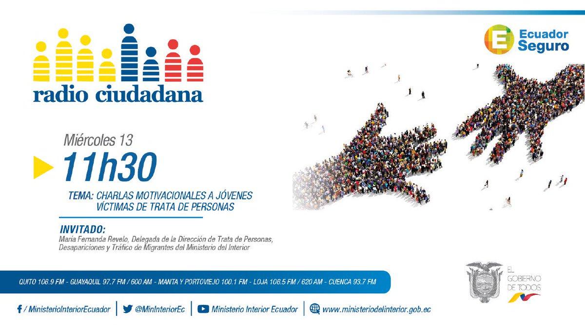 El Ciudadano On Twitter Hoy A Las 11h30 En Ecuadorseguro