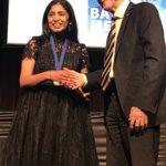 Congratulations Madhu Bhaskaran @RMIT on being first female winner of #Batterham Award !#atseInnovationDinner