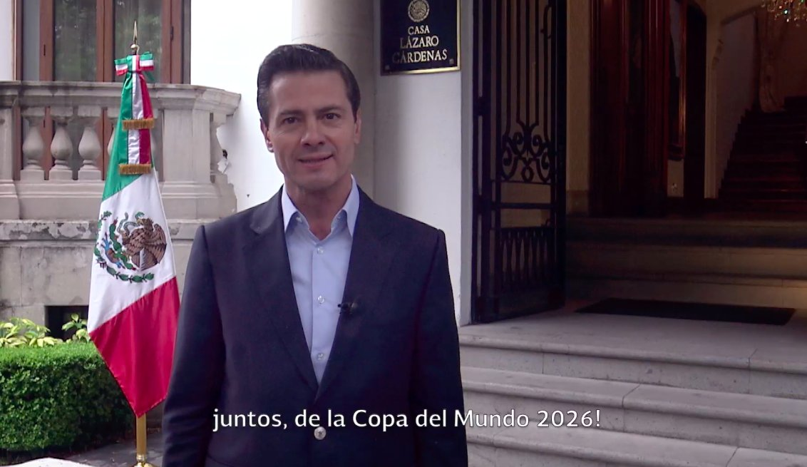Enrique Peña Nieto's photo on #Mundial2026