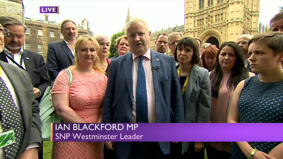 What we saw last night is the government ramming through legislation that takes responsibility of 24 areas back from the Scottish Parliament but remarkably without debate. Not one single Scottish MP was able to speak in that debate @IanBlackfordMP tells @Jo_Coburn #bbcdp #pmqs