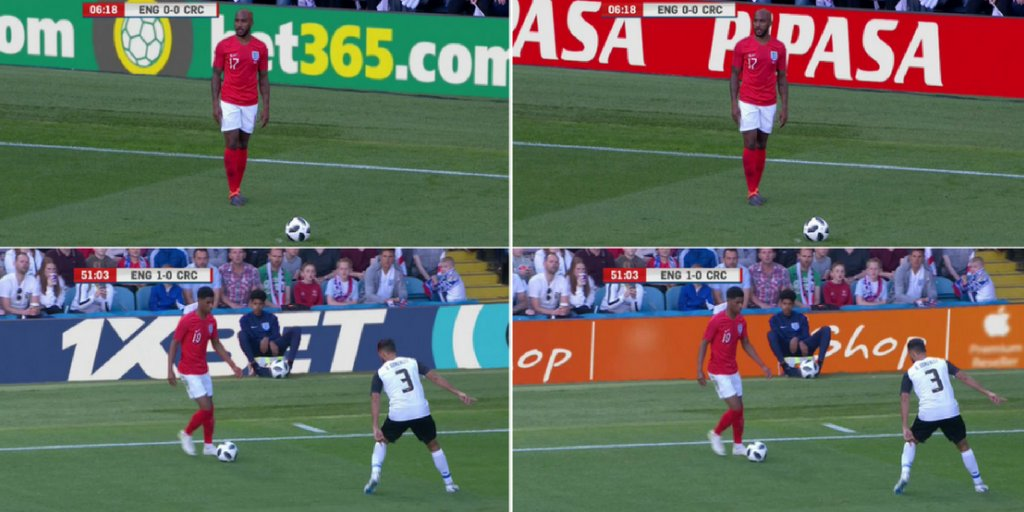 .@ITV and @FA tested virtual stadium perimeter ads during England game – and no one noticed fal.cn/yxKW