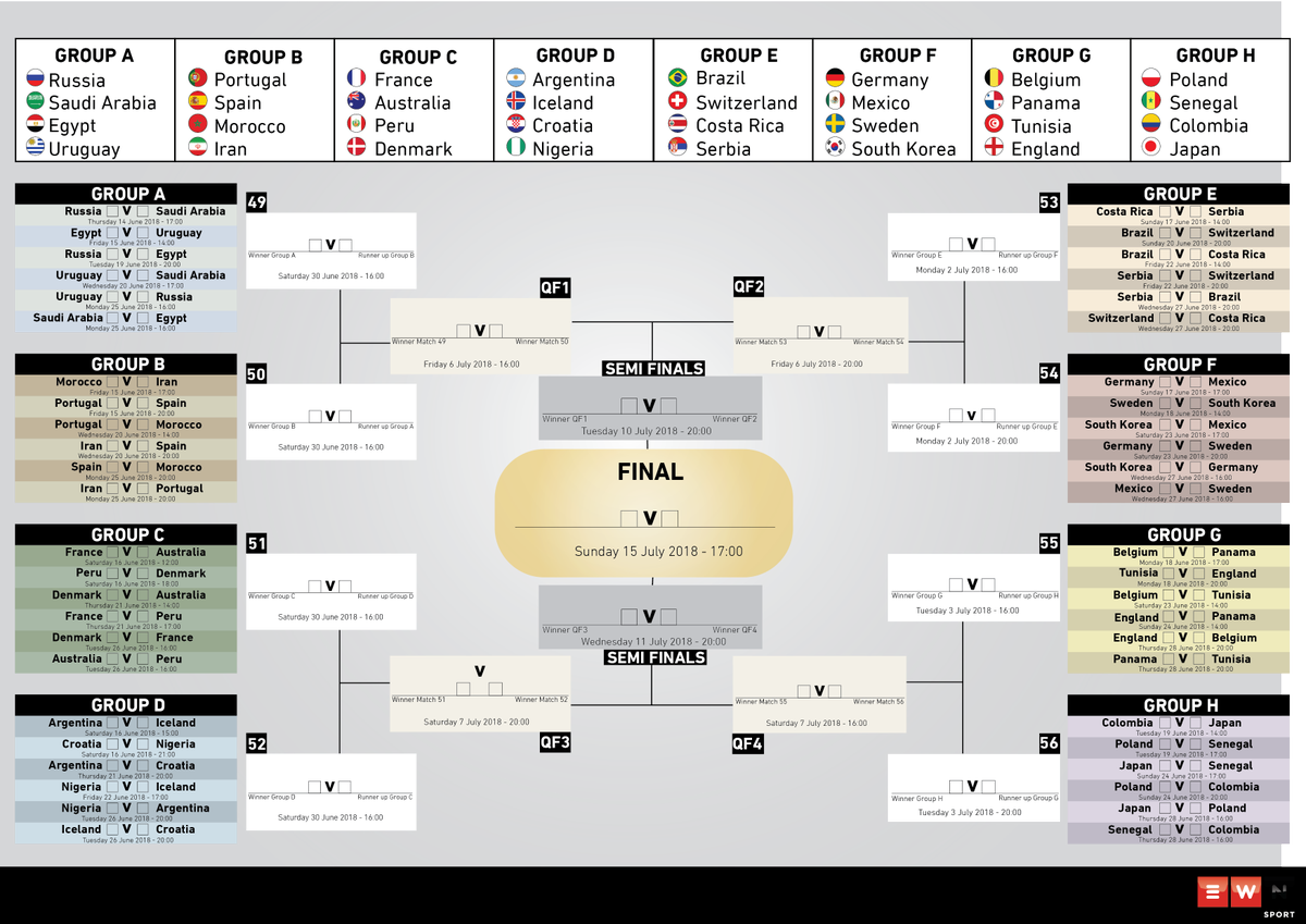 graphic relating to Printable World Cup Schedule referred to as Eyewitness Information upon Twitter: \