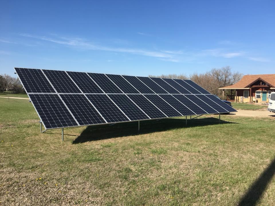 tilting solar panel rack - 960×720