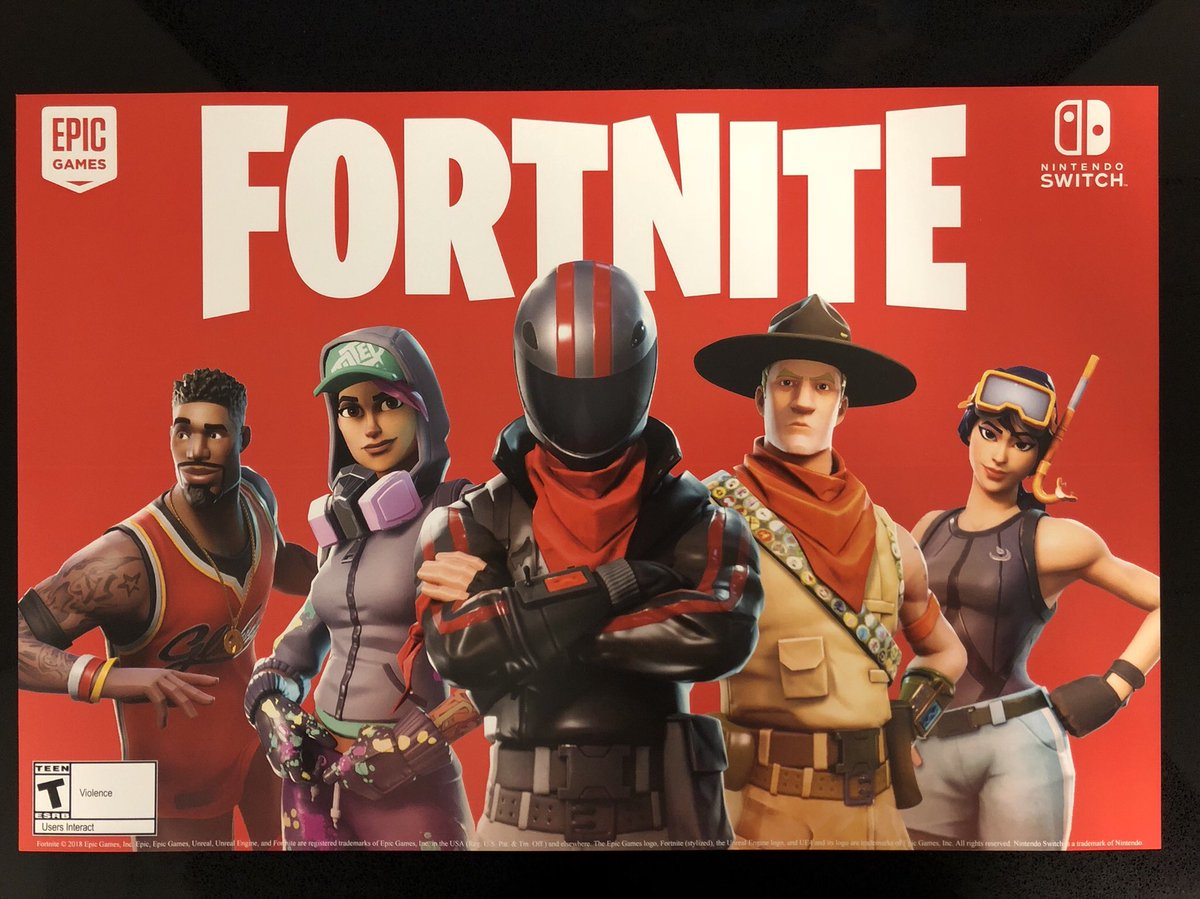 Get Fortnite Nintendo Switch Download Wallpapers
