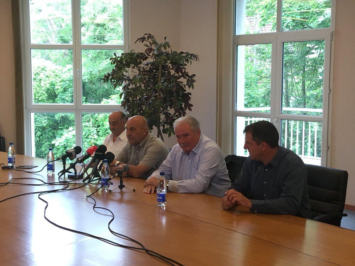La conférence de presse de Frédéric Antonetti