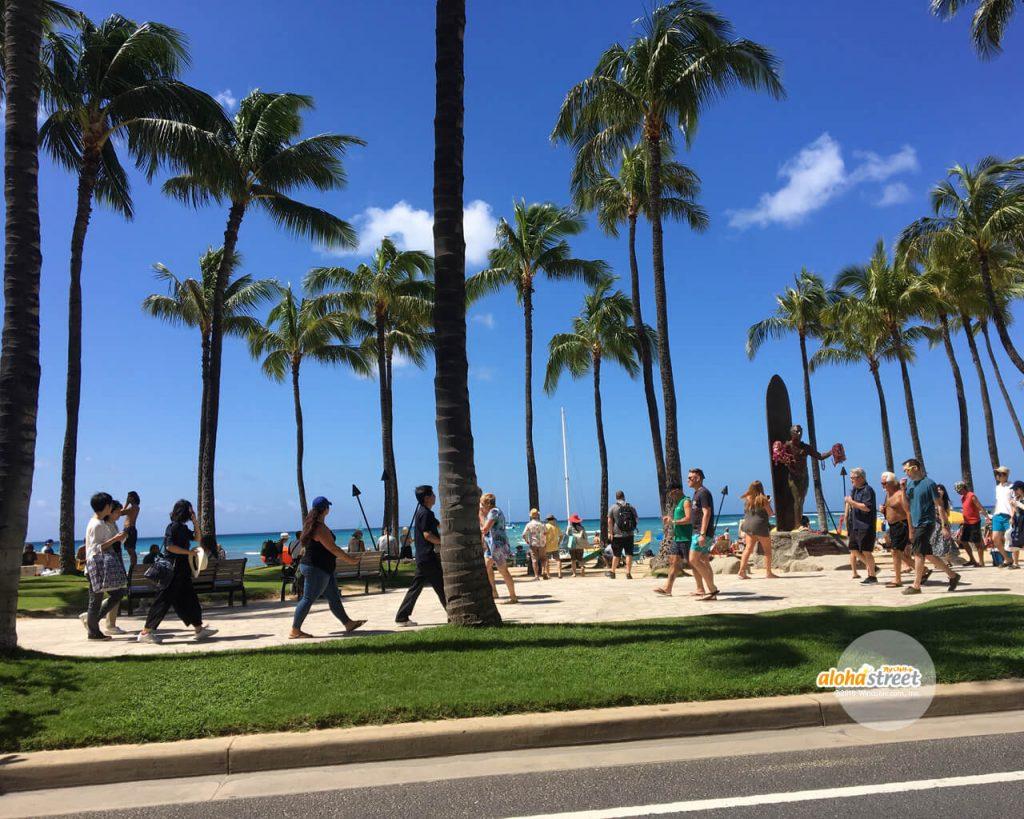 アロハストリート On Twitter 今週のハワイの壁紙 今日も賑わう