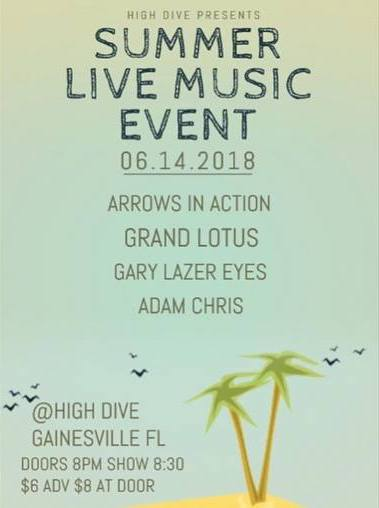 High dive gainesville events
