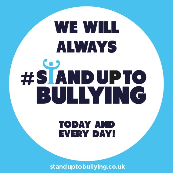 Social media bullying can happen to anyone. If it doesn't feel right please talk to someone. Always #StandUpToBullying Photo