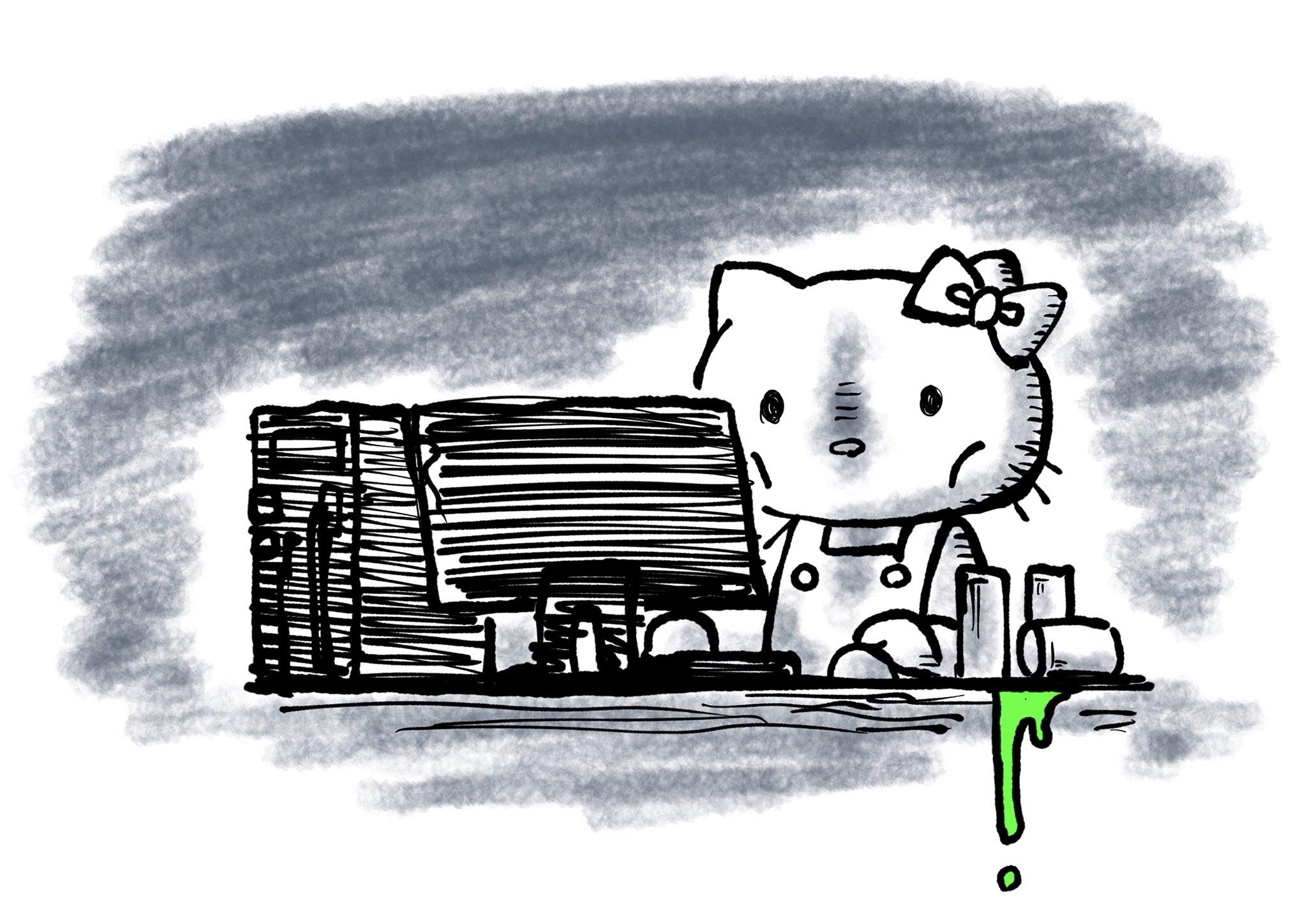 過労キティ