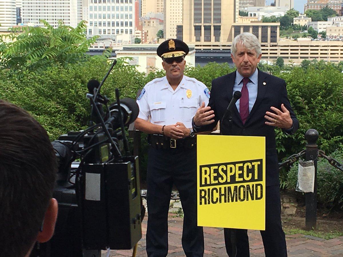 Richmond Police On Twitter Richmond Police Chief Alfred Durham