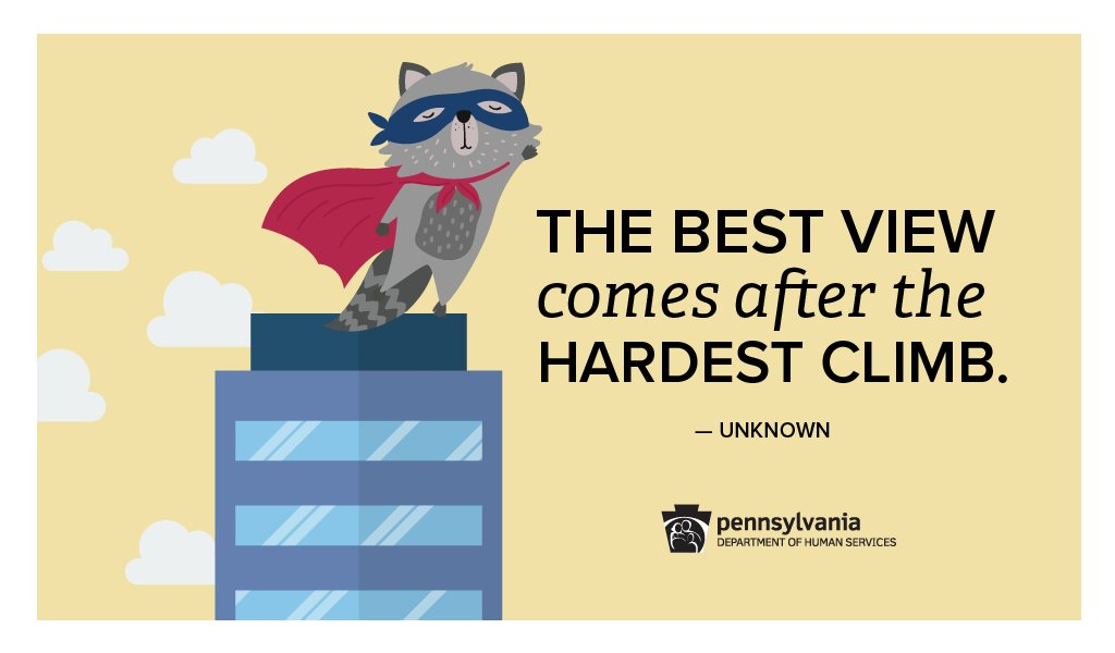 PA Department of Human Services's photo on #mpraccoon