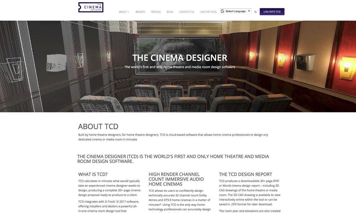 The Cinema Designer© (@TheCinemaDesign) | Twitter