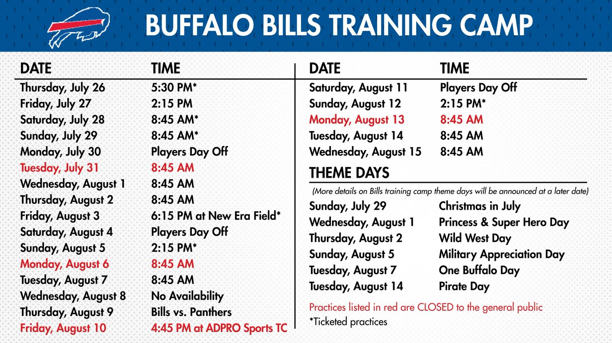This is a picture of Sizzling Buffalo Bills Schedule Printable