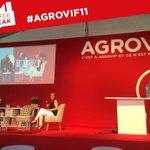 Image for the Tweet beginning: #AGROVIF11 c'est aussi de nombreuses